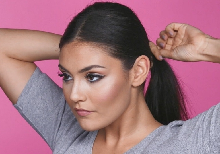 How To Get A Sleek Ponytail | Tutorials | Superdrug Pertaining To Super Sleek Ponytail Hairstyles (View 11 of 25)