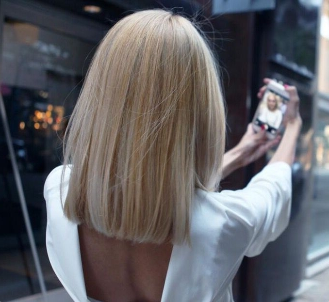 How To: Grown Out Ombre Transformed Into An Edgy, Blonde Lob – Hair Intended For Ombre Ed Blonde Lob Hairstyles (View 18 of 25)
