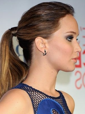 How To: Jennifer Lawrence's Pca Hair! | Hair Do's | Pinterest Pertaining To Stylish Supersized Ponytail Hairstyles (View 17 of 25)