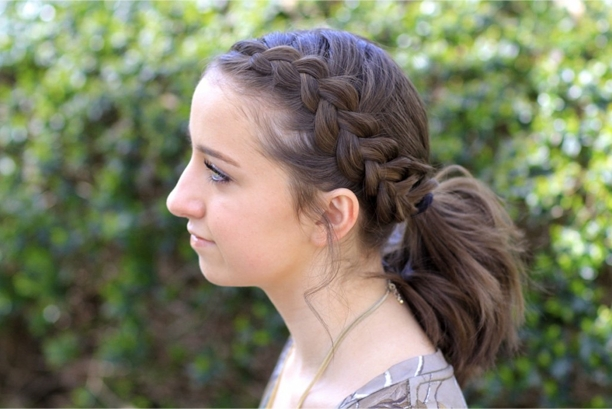 How To Make Dutch Accent Ponytail Stepstep Tutorial Within Pony Hairstyles With Accent Braids (View 20 of 25)