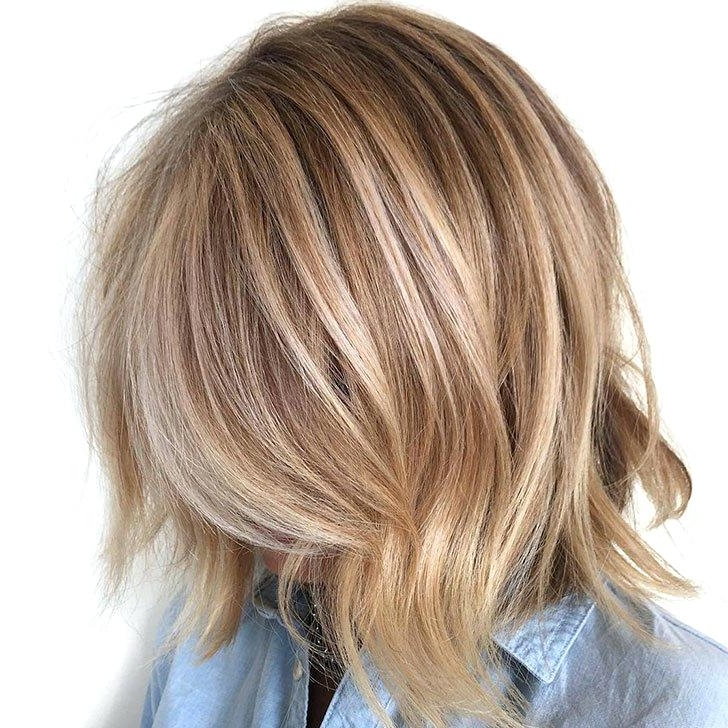 How To Make Thin Hair Look Thicker Haircut Wheat Blonde Bob Best In Wheat Blonde Hairstyles (View 5 of 25)