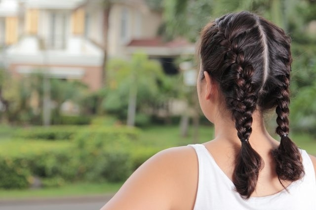 How To Make Two French Braidsyourself | Leaftv With Regard To Two Braids In One Hairstyles (View 20 of 25)