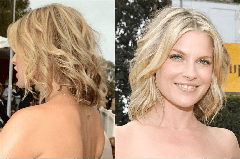 How To Nail The Medium Length Hair Trend Regarding Tousled Shoulder Length Waves Blonde Hairstyles (View 11 of 25)