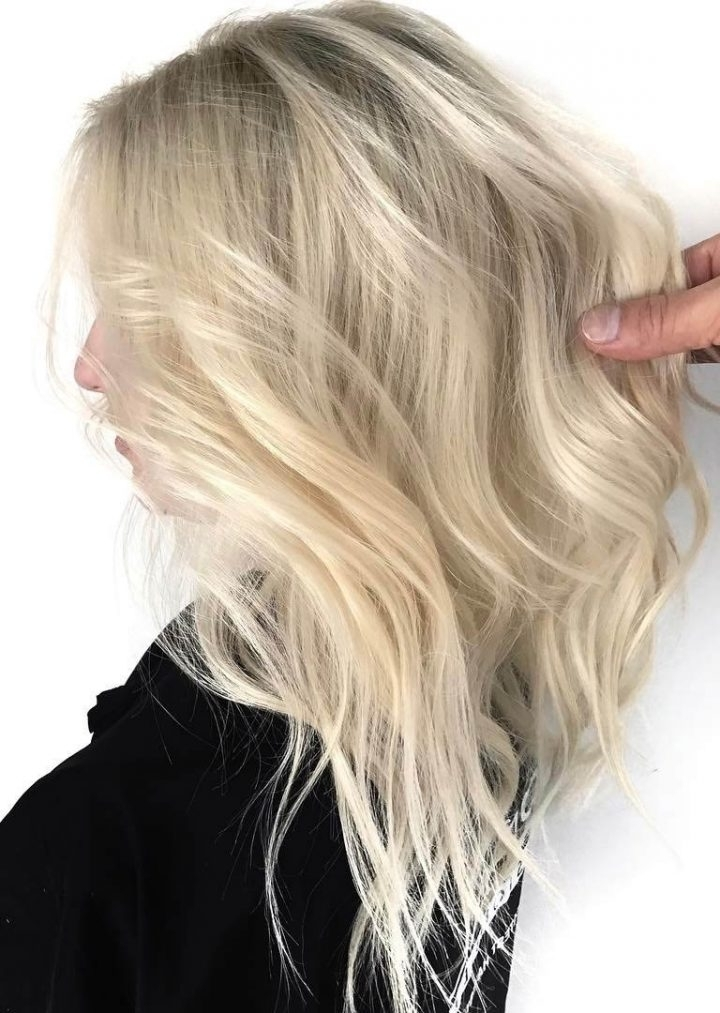 How To Pick Hair Colors For Pale Skin In Pale Blonde Balayage Hairstyles (View 5 of 25)