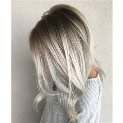 How To: Smoky Shadow Root | Hair | Pinterest | Hair Coloring, Hair For Dark Roots And Icy Cool Ends Blonde Hairstyles (View 21 of 25)