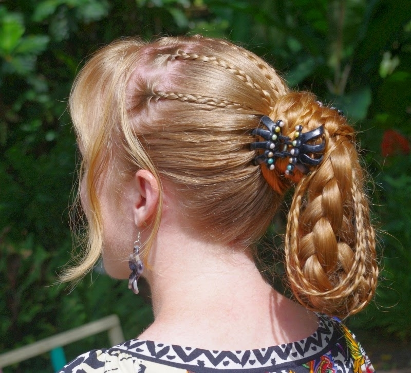 """I Dream Of Jeannie"""" Braided Ponytail – Hairstyle Center In Pony Hairstyles With Accent Braids (View 23 of 25)"""