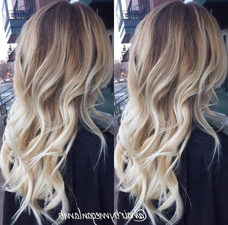 Icy Blonde Balayage | Mane Attraction | Pinterest | Icy Blonde With Icy Highlights And Loose Curls Blonde Hairstyles (View 22 of 25)