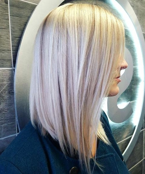 Icy Blonde Hair Color How To Do Nice Hairstyles Ice Blonde Intended For Icy Blonde Shaggy Bob Hairstyles (View 25 of 25)