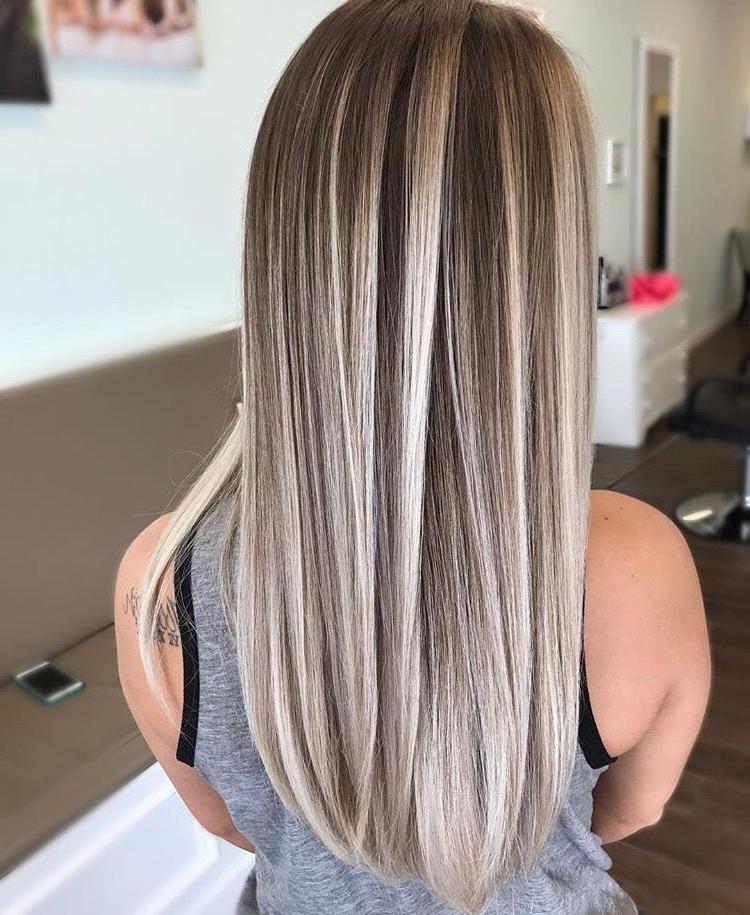 Icy Blonde Highlights (View 22 of 25)