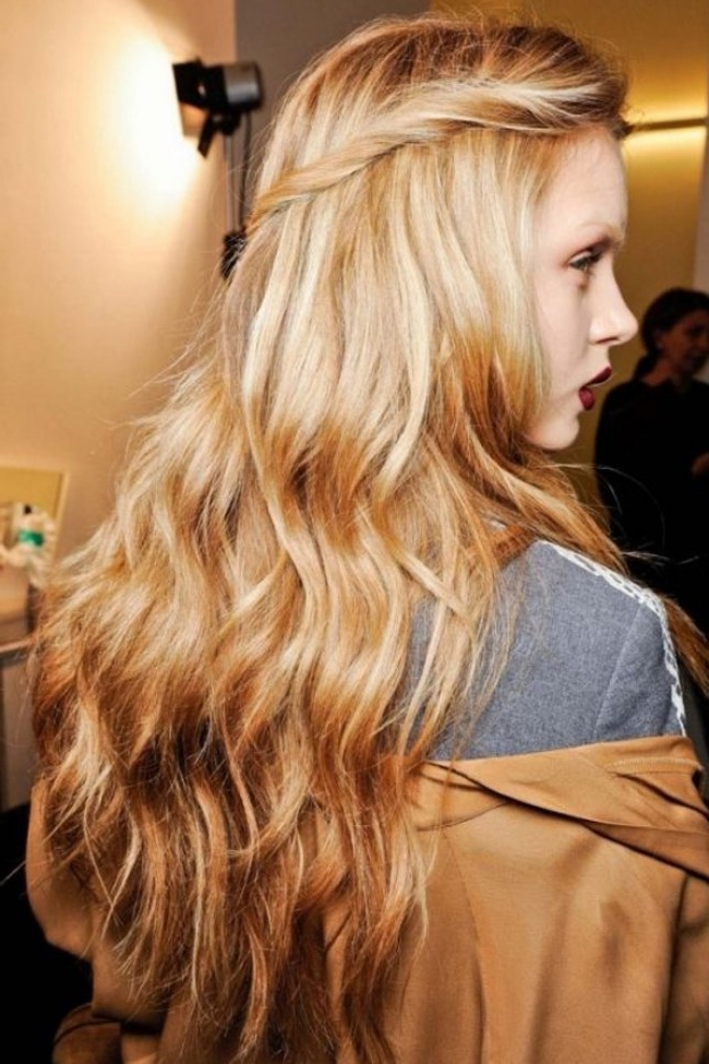Ideas At The House: 40 Blonde Hairstyle Inspirations From Our In Butterscotch Blonde Hairstyles (View 24 of 25)