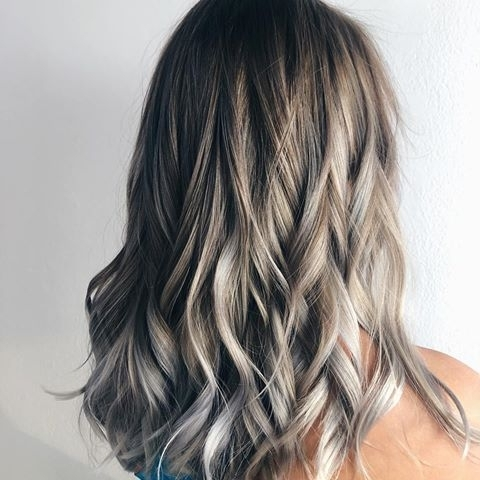 Images About #grayhair On Instagram Inside Grayscale Ombre Blonde Hairstyles (View 24 of 25)