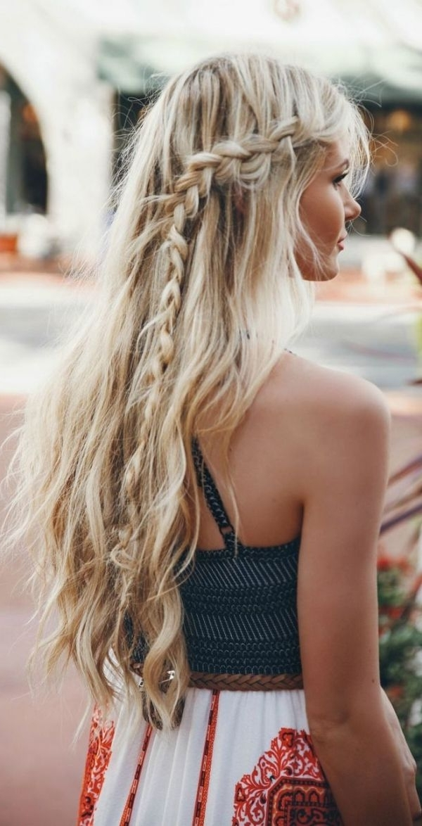 Incredibly Romantic Braid Hairstyles To Try | Braids, Braids, Braids In A Layered Array Of Braids Hairstyles (View 18 of 25)