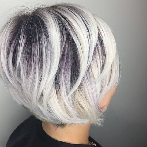 Instagram Analytics | Hair! ! | Pinterest | Hair Style, Hair Throughout Platinum And Purple Pixie Blonde Hairstyles (View 7 of 25)