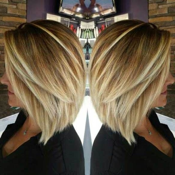 Inverted Blonde Fine Hair Bob Haircut, Bob Haircuts For Fine Hair With Regard To Bouncy Caramel Blonde Bob Hairstyles (View 8 of 25)
