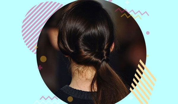 Inverted Twist Ponytail Hairstyle Stestep Guide | Bebeautiful With Glossy Twisted Look Ponytail Hairstyles (View 16 of 25)