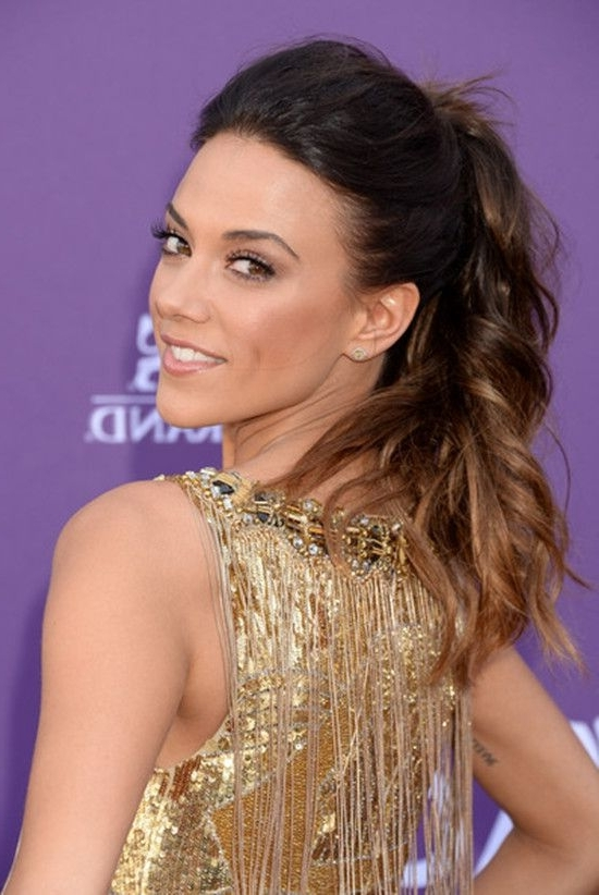 Jana Kramer's Tousled High Ponytail | Instylegirls?Hairstyles Within High And Tousled Pony Hairstyles (View 25 of 25)