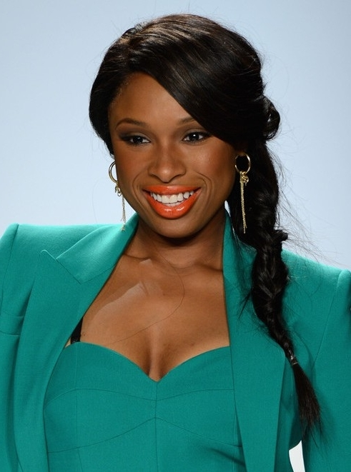 Jennifer Hudson Ponytail Hairstyle For Black Long Hair - Popular with Black And Luscious Pony Hairstyles