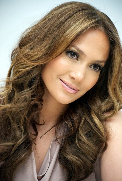 Jennifer Lopez Hairstyles: Luscious Waves – Popular Haircuts For Black And Luscious Pony Hairstyles (View 22 of 25)