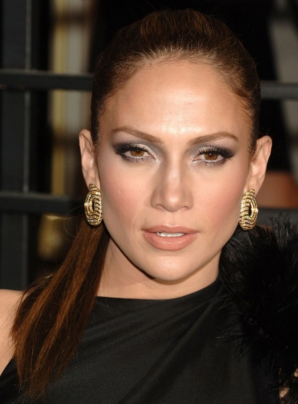 Jennifer Lopez's Super Sleek Ponytail Hairstyle At 2010 Oscars After intended for Super Sleek Ponytail Hairstyles