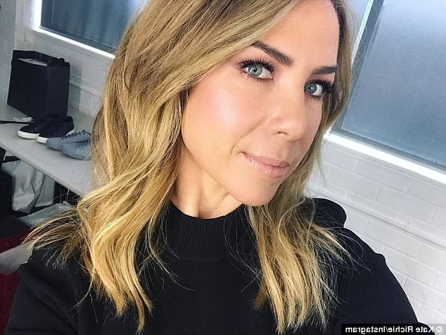 Kate Ritchie Shows Off New Hair After Awkward Pda With Stuart Webb For Pretty Smooth Criminal Platinum Blonde Hairstyles (View 10 of 25)