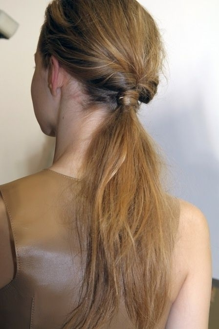 Knotted Ponytail | Hair Does She (View 13 of 25)