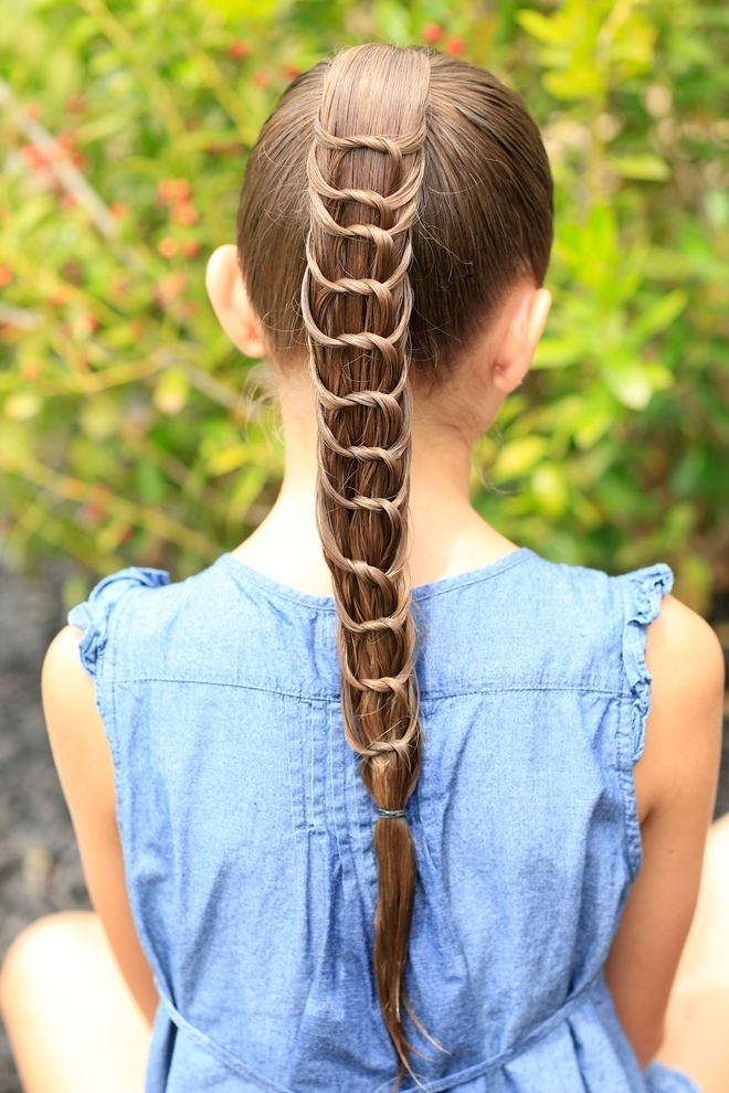 Knotting Ponytail Hairstyles • Latest Hairstyles For Women's And For Braided And Knotted Ponytail Hairstyles (View 21 of 25)