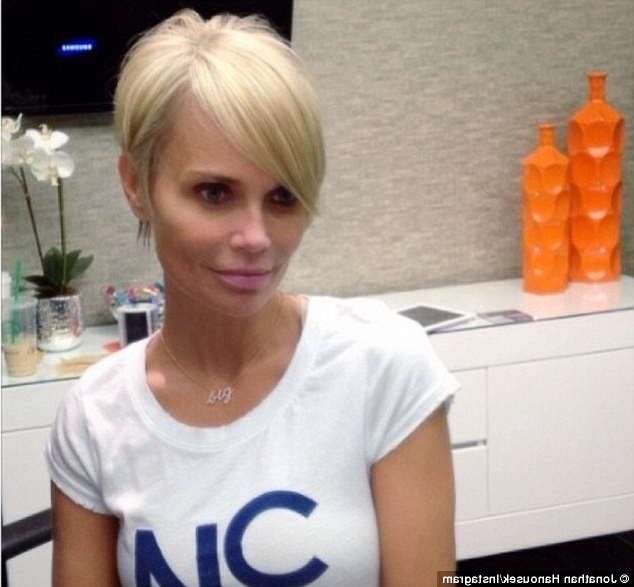 Kristin Chenoweth Lops Off Long Locks And Goes With Platinum Blonde Intended For Platinum Blonde Long Locks Hairstyles (View 17 of 25)