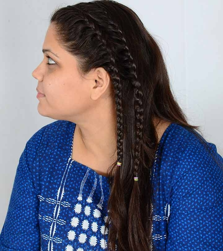 Lace Braid Picture Guide – A Stepstep Tutorial Within Ponytail And Lacy Braid Hairstyles (View 13 of 25)