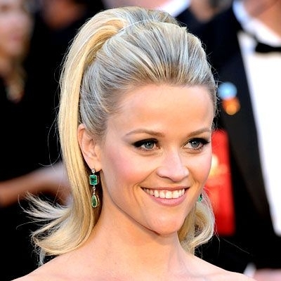 Last Month | Reese Witherspoon Hair, Ponytail And Reese Witherspoon In Cascading Ponytail Hairstyles (View 22 of 25)