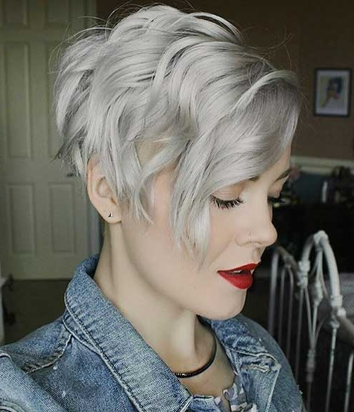 Latest Short Choppy Haircuts For Textured Style | Short Hairstyles Throughout Newest Choppy Gray Pixie Hairstyles (View 4 of 25)