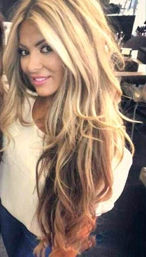 Layered Hairstyles – Andreacortez Inside Brown Blonde Layers Hairstyles (View 22 of 25)