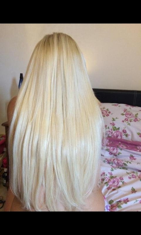 """Life Of A Blonde On Twitter: """"foxy Locks Platinum Blonde Clip In Intended For Long Platinum Locks Blonde Hairstyles (View 15 of 25)"""