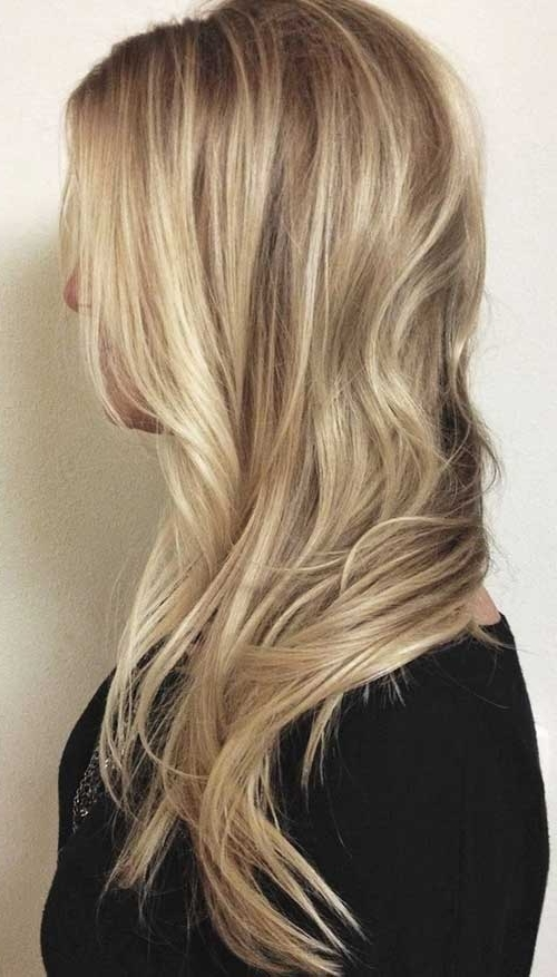 Light Ash Blonde Long Hair Intended For Feathered Ash Blonde Hairstyles (View 19 of 25)
