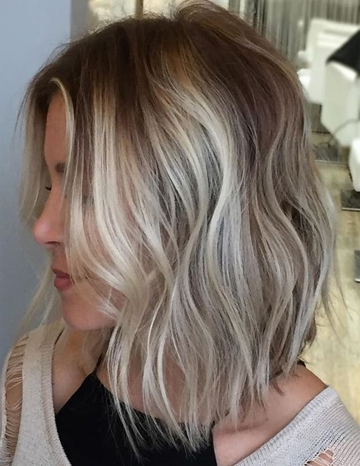 Light Brown Blonde Highlights For Short Hairstyles 2017 Balayage | In Light Brown Hairstyles With Blonde Highlights (View 5 of 25)