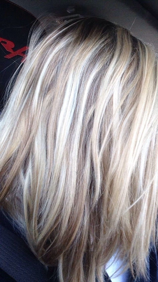 Light Brown/dirty Blonde With Light Blonde Highlights. And Yes (View 12 of 25)