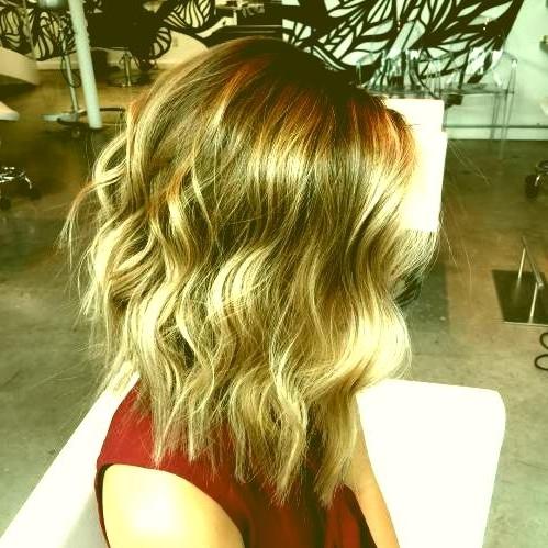 Light Brown Long Bob Hairstyles 9 Long Layered Brown Blonde Balayage In Brown Blonde Layers Hairstyles (View 15 of 25)
