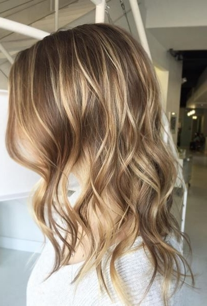 Light Brunette Shade With Blonde Highlights Done Right | Hair In Blonde And Brunette Hairstyles (View 20 of 25)