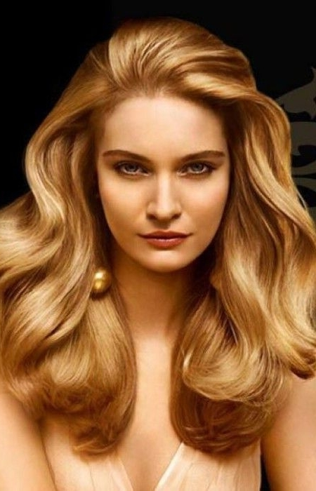 Light Golden Blonde Hair Color | Haircut In 2018 | Pinterest Within Amber And Gold Blonde Hairstyles (View 23 of 25)