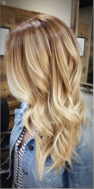 Light Wood And Honey Blonde Highlights – Haircut Styles And Hairstyles Inside Honey Blonde Hairstyles (View 9 of 25)