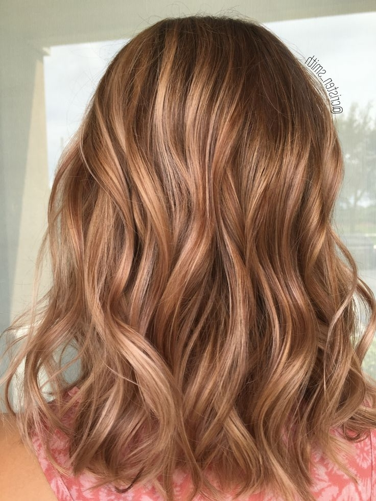Like This Or Lighter? | Hair | Pinterest | Dimensional Blonde Regarding Light Copper Hairstyles With Blonde Babylights (View 2 of 25)