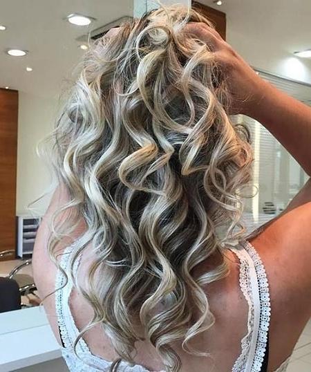 Long Blonde Hairstyles – Blonde Hairstyles 2017 In Ash Blonde Half Up Hairstyles (View 20 of 25)