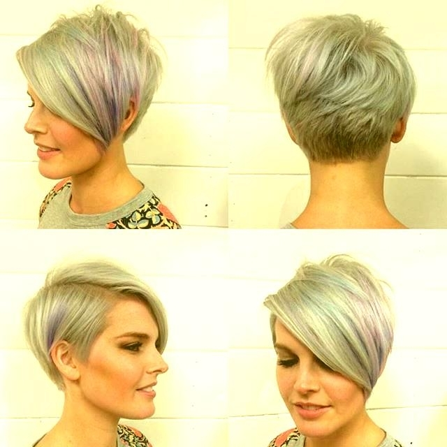 Long Bob Hairstyles Colour – New Hairstyle Ideas For Newest Lavender Pixie Bob Hairstyles (View 25 of 25)