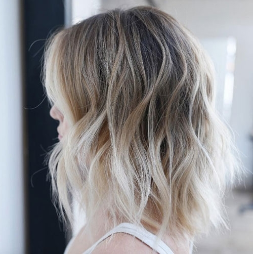 Long Bob (Lob) Hairstyles   Love Ambie Throughout Messy Blonde Lob Hairstyles (View 9 of 25)
