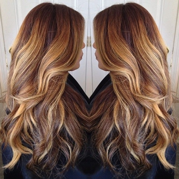 Long Hair Posts – My New Hair Throughout Golden Blonde Balayage Hairstyles (View 25 of 25)