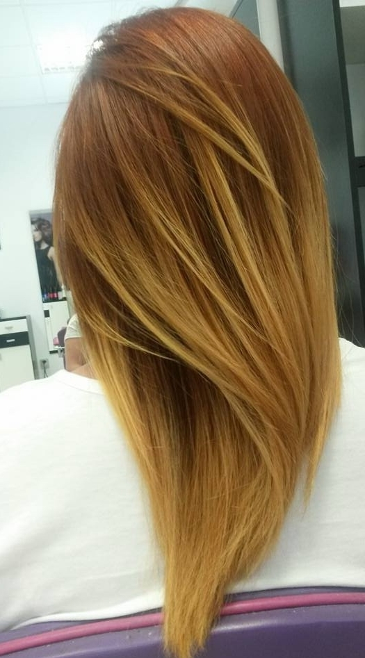 Long, Light Brown Hairstyle With Blonde Highlights | Hairstyles Regarding Light Brown Hairstyles With Blonde Highlights (View 18 of 25)