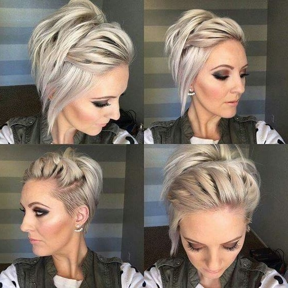 Long Undercut Pixie | Hair | Pinterest | Undercut Pixie, Messy Intended For Most Current Imperfect Pixie Hairstyles (View 4 of 25)