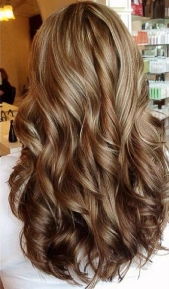 Look At This Perfect Butterscotch/caramel/vanilla Swirl Hair Color Pertaining To Light Chocolate And Vanilla Blonde Hairstyles (View 11 of 25)