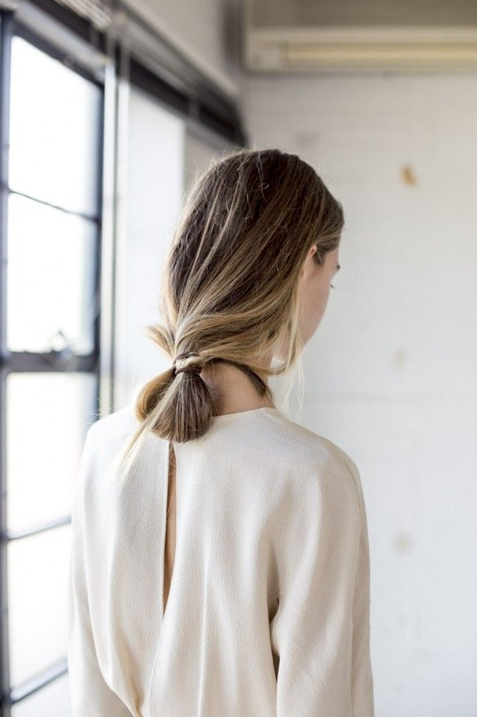 Looped Ponytail | The Fashion Medley Intended For Loose And Looped Ponytail Hairstyles (View 14 of 25)