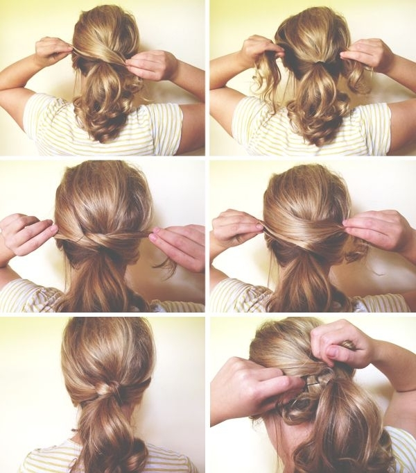 Los Mejores Peinados Casuales Que Te Encontrarás En La Web | Braids Intended For Knotted Ponytail Hairstyles (View 17 of 25)