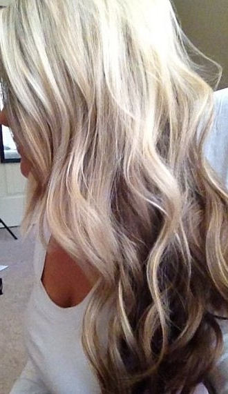 Love This For Someone Wanting To Go Dark From White Blondetaste Within Dark Blonde Into White Hairstyles (View 8 of 25)